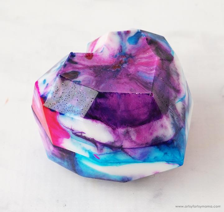 Tie-Dye Resin Trinket Box