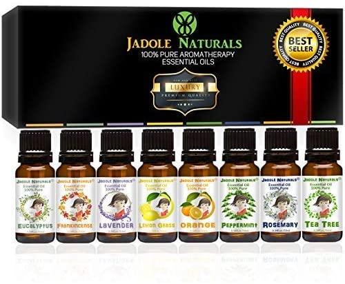 أفضل 8 زيوت عطرية Jadole Naturals
