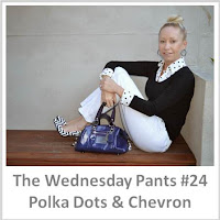 Sydney Fashion Hunter - The Wednesday Pants #24 - Polka Dots & Chevron