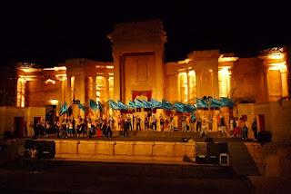 Romėnų teatras Palmyroje, Sirijoje