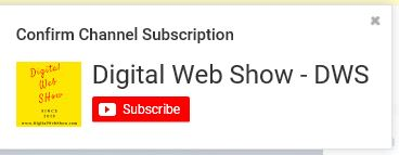 POPUP Subscription Button