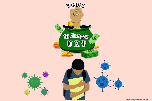 """Kandas """"di Tangan"""" UKT"""