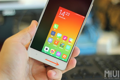 handed mode pada smartphone Xiaomi Redmi Note  Cara Mengaktifkan One-Handed Mode di Xiaomi (Redmi Note 3)