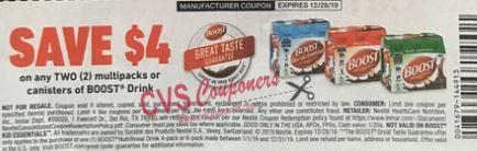 boost shake coupon