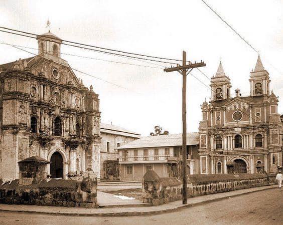 The Franciscan Patio Santuario de San Antonio de Padua in Intramuros, Manila