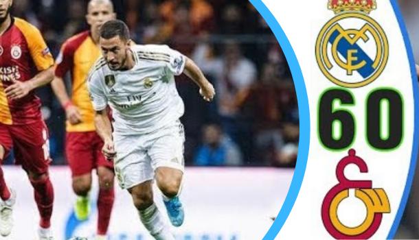 ريال مدريد يكتسح غلطة سراي بنصف دزينة في دوري الأبطال