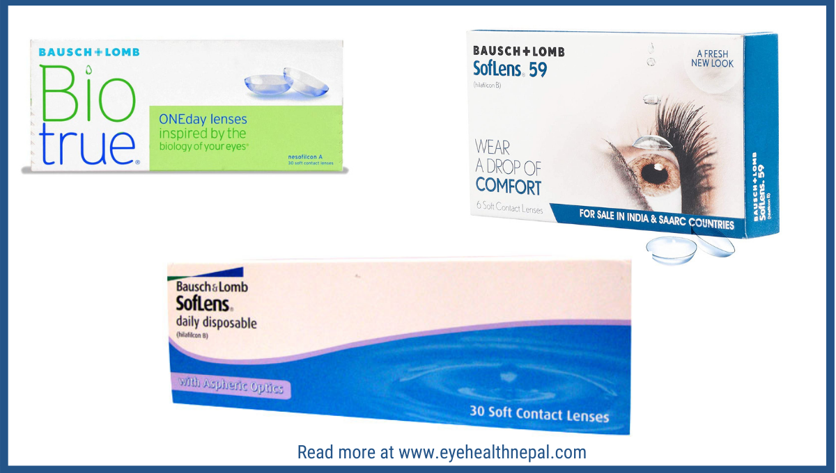 Bausch + Lomb Contact Lens in Nepal