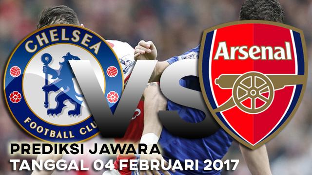 Chelsea vs Arsenal 04 Februari 2017