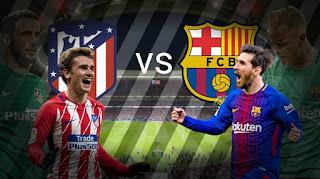 مشاهدة مباراة أتلتيكو مدريد و برشلونة بث مباشر اليوم السبت بتاريخ 24-11-2018 bein 3 hd