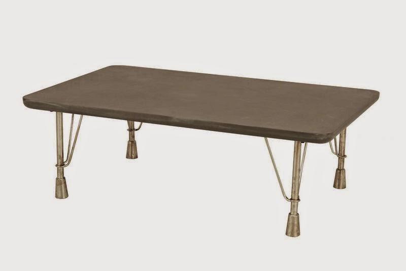 Mesa metalica bajita salon