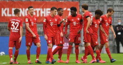 Bayern Munich survive the loss to Bielefeld