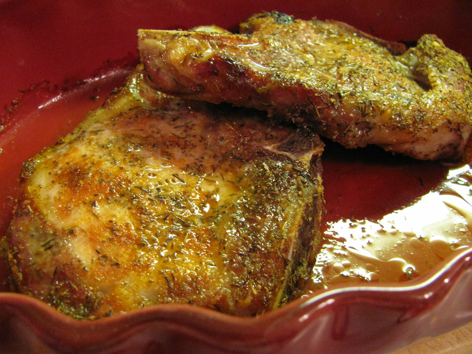 The Empty Nester Gourmet Easy Spicy Juicy Baked Pork Chops