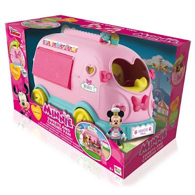 TOYS : JUGUETES - DISNEY Minnie  Caravana Sweets & Candies | 2016  Producto Oficial | IMC Toys 181991 | A partir de 3 años