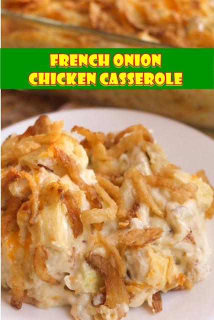 #French #Onion #Chicken #Casserole