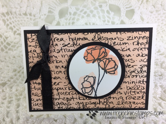 Share What You Love designer Paper, Love What You Do, Stampin'Up!, Frencheistamps, Grapefruit Grove,