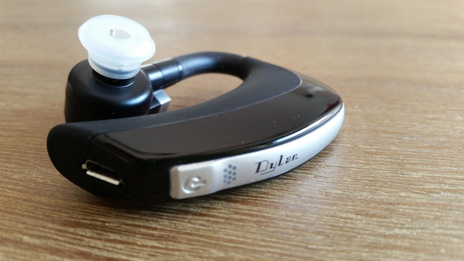 der tester dylan bt mono headset zum telefonieren im auto. Black Bedroom Furniture Sets. Home Design Ideas