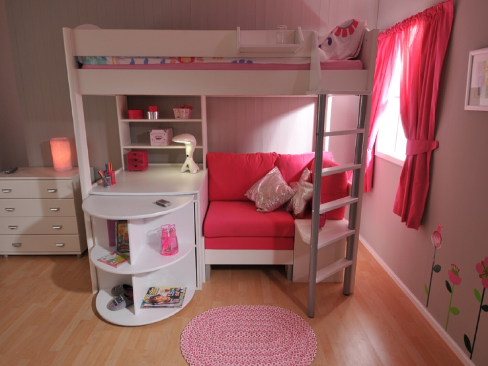 Tinsley highsleeper with chest and storage childrens for High sleeper bed