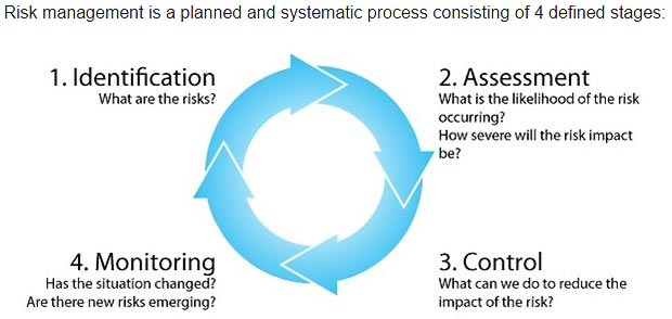 project risk management cycle