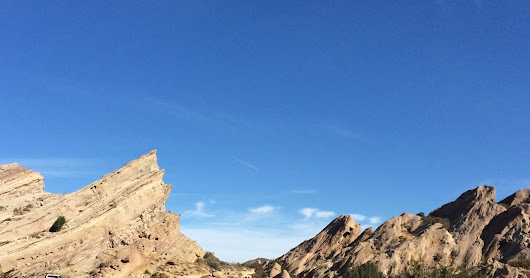 Moon Rocks (Visiting Vasquez Rocks)