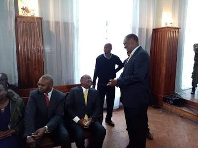 KENYA: WAZIRI WA FEDHA NA WENZAKE WAFIKISHWA MAHAKAMANI