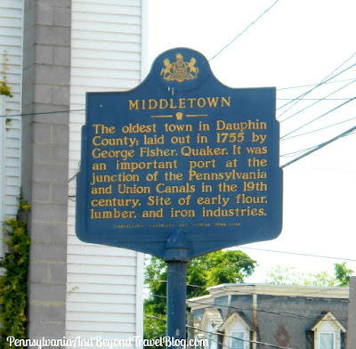 Middletown Historical Marker in Pennsylvania