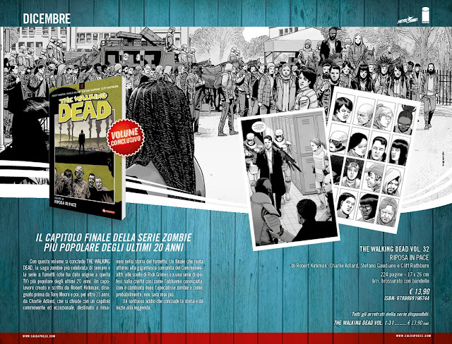 The Walking Dead Vol.32: Riposa in pace