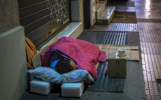 Θερμαινόμενη αίθουσα για τους άστεγους άνοιξε ο Δήμος Αθηναίων