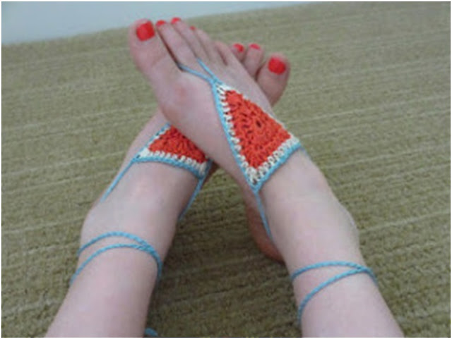 ayak süsleme örnekleri