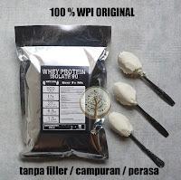 Whey Protein Isolate 90 WPI 90 susu protein debm unflavoured 500gr
