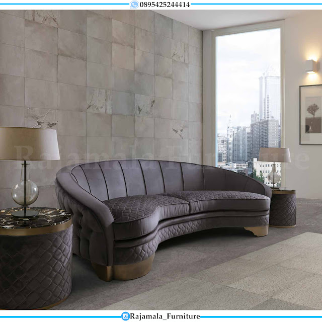 New Desain Sofa Tamu Minimalis Jepara Luxury Classic Furniture Jepara RM-0209