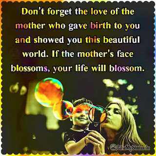 Mother love quote