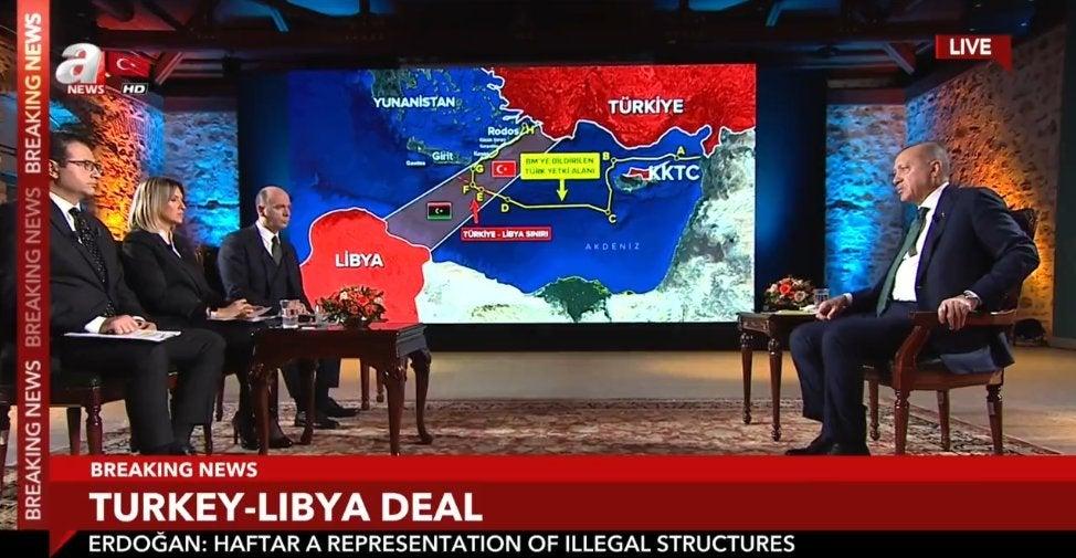 Ανεβάζει την ένταση ο Ερντογάν: «Θα κάνουμε γεωτρήσεις νότια της Κρήτης» – «Θα στείλουμε στρατό στη Λιβύη»