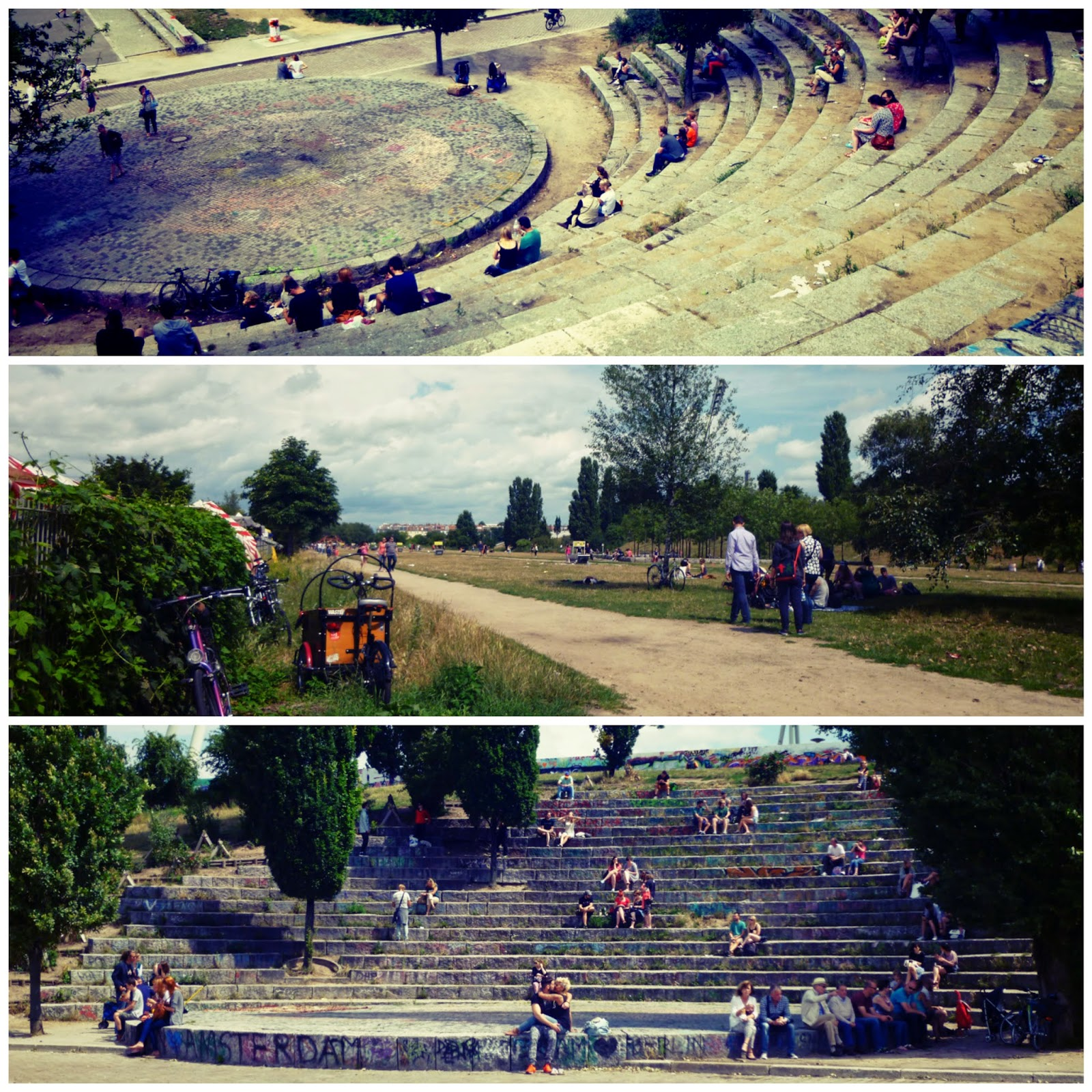 Mauerpark Berlin Germany