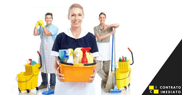 servente de limpeza em curitiba