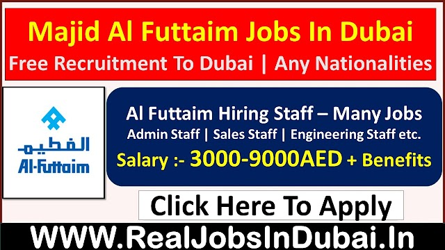 Majid Al Futtaim Hiring Staff In UAE 2021