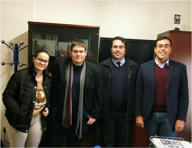 Reunión con el Instituto Andaluz de la Juventud