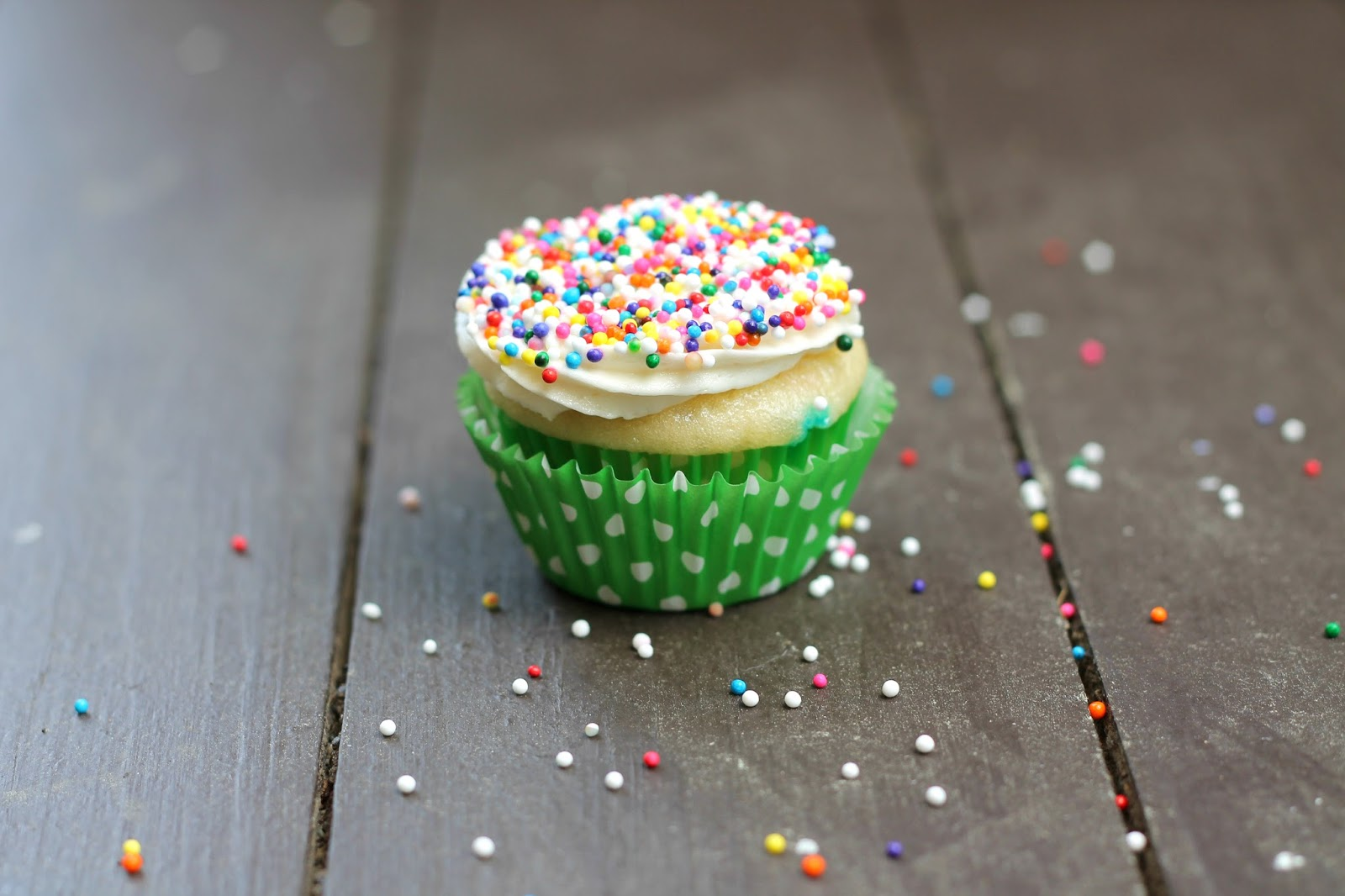 Mini Confetti Cupcakes + Tom Tom's Class Birthday Party