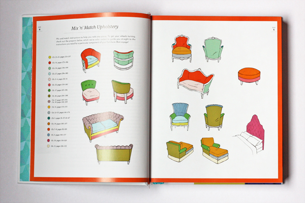 A DIY upholstery manual from Spruce | How About Orange