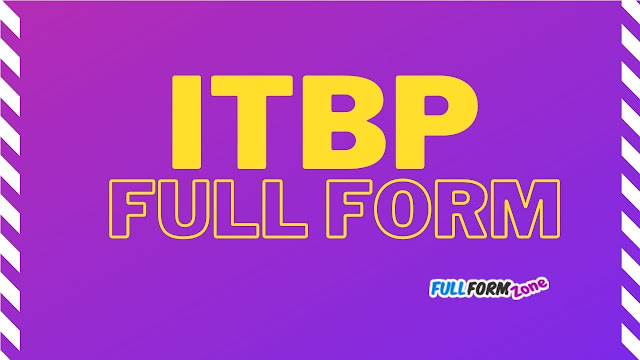 ITBP Full Form in Hindi