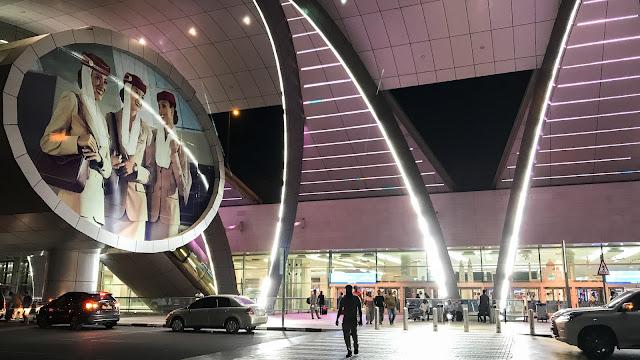 Emirates Terminal in Dubai