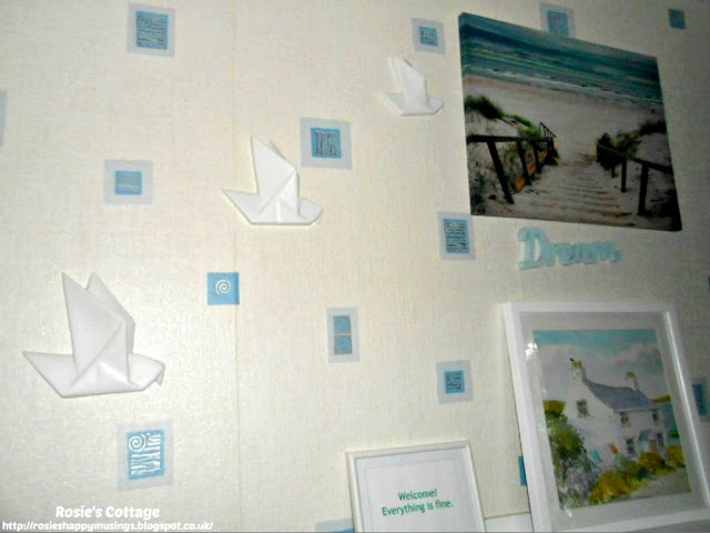 How I de-stress and find my calm: This is my calm wall...