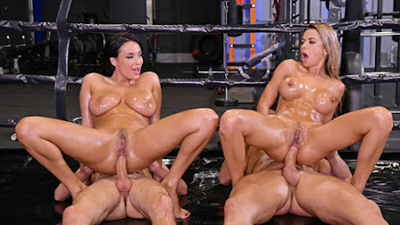 [HandsOnHardcore] Anissa Kate, Shalina Devine (An XXX-treme Workout Regimen – Part 2 / 12.30.2020)