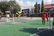 "Meriahkan HUT TNI Ke 72, Letkol ARM.Yuwono Buka Kejuaraan Takraw "" Dandim Cup I """