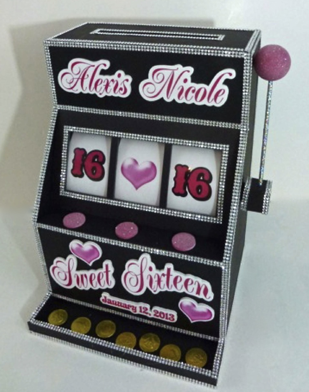 Las vegas slot machine money box