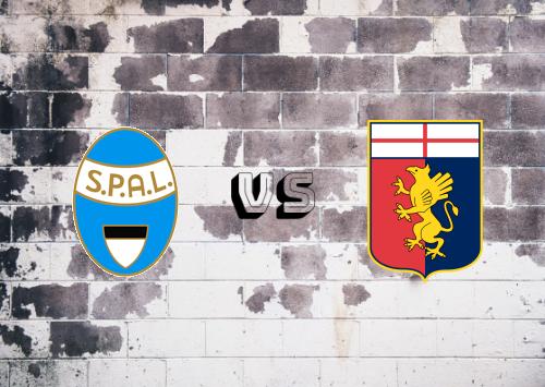 SPAL vs Genoa  Resumen