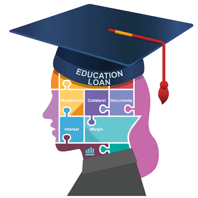 Saving is less for Child's Higher Education? Take Education loan like This|Education loan eligibility|Education loan Process|Skill loan is also available for online education|Loan collateral, margin and search.