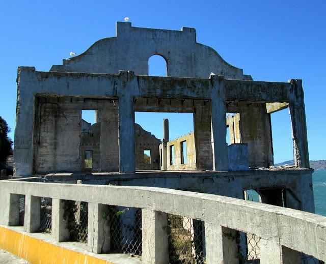 Localização da Ilha de Alcatraz em San Francisco