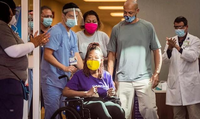 Mulher se recupera de Covid-19 e sobrevive a morte cerebral, após oração de familiares