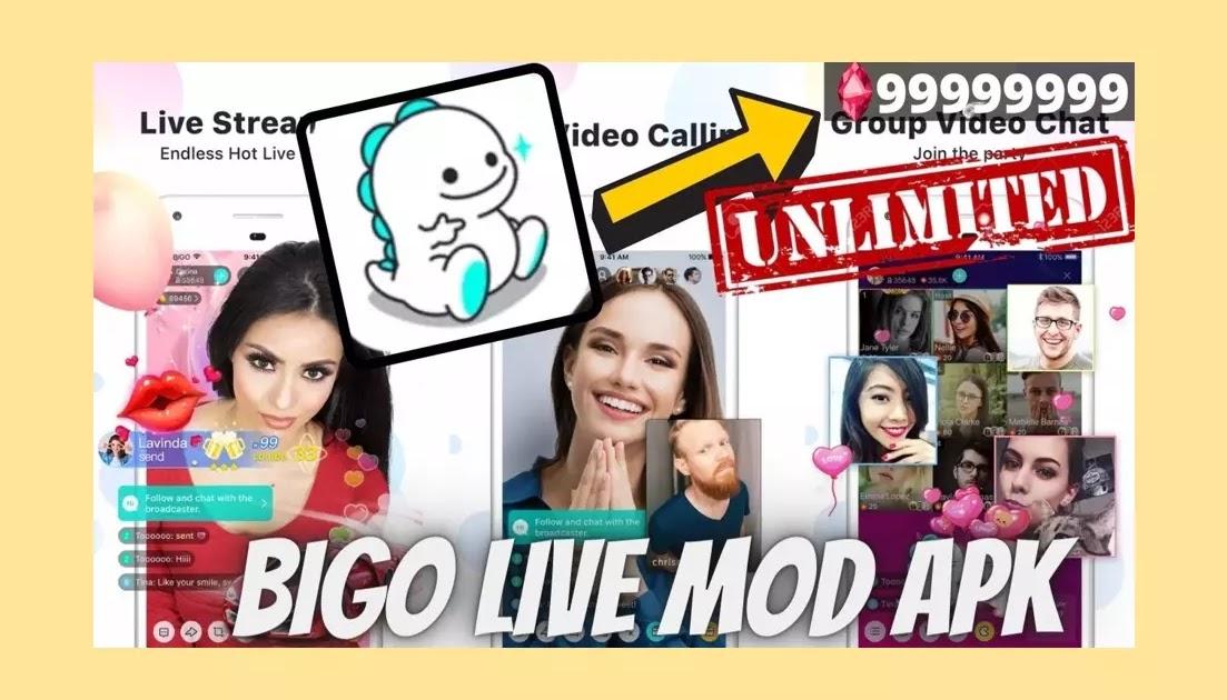 Download Bigo Live Mod Apk Unlimited Diamonds Bean