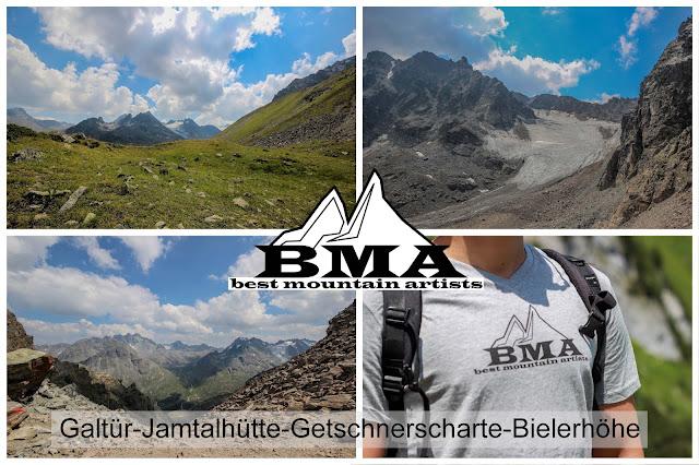 wandern Tirol Best Mountain Artists Paznauntal Österreich Galtür Silvretta Stausee Bielerhöhe